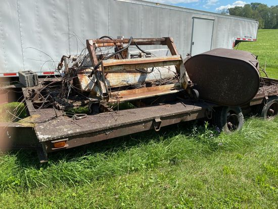 Industrial Tandem Axle Trailer by SuperTrailers of NJ