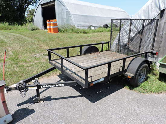 2012 Cross Country Utility Trailer with Ramp-Gate