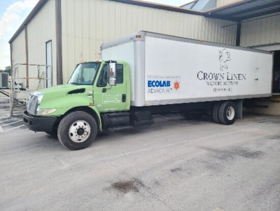 A Pair of Large Box Trucks - Absolute Auction