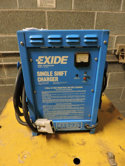 EXIDE Single Shift Charger - 12V - for Fork Lifts