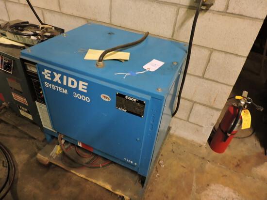 EXIDE System 3000 - 24V Industrial Battery Charger