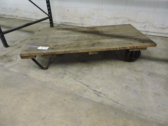2-Wheel Warehouse Cart - by MYERS / 1-TON Capacity