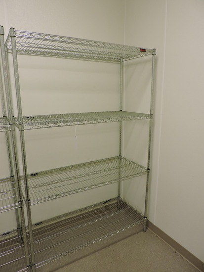"""EAGLE Brand 4-Level Wire Rack / 48"""" Wide X 22"""" Deep X 75"""" Tall"""