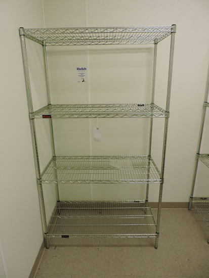 """EAGLE Brand 4-Level Wire Rack / 42"""" Wide X 22"""" Deep X 75"""" Tall"""
