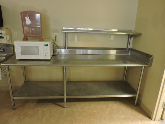 EAGLE Brand 3-Level Stainless Steel PREP TABLE - Clean Condition
