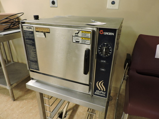GROEN HyPerSteam Convection Steamer with Rack-Table Included