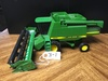"John Deere ""9600"" Combine w/grain platform, excellent condition, 1/16 scale, no box"