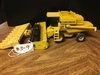 New Holland TR97 w, 2 heads, 1/24 scale, excellent  condition, No Box