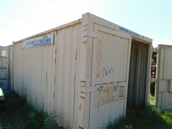 10 FT X 18 FT STORAGE CONTAINER