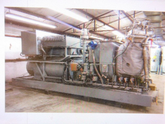 (2) KG2- 3C GAS FUEL TURBINE GENERATOR