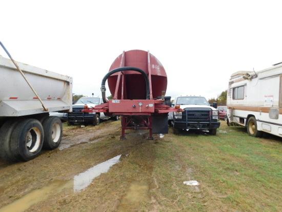 Red Trailmobile Trailer HOPPER BOTTOM
