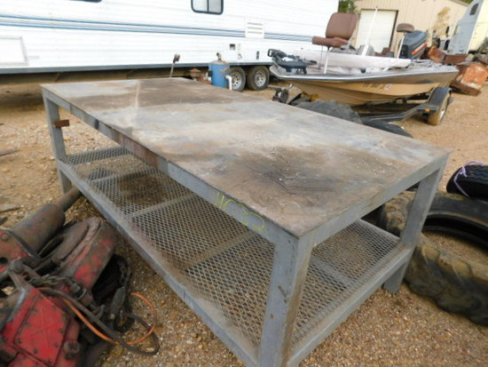 Steel Shop Table
