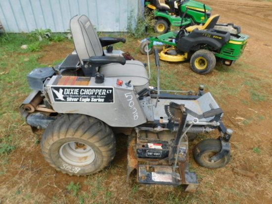 "**NOT SOLD**DIXIE CHOPPER 0 TURN 50"" CUT MOWER"