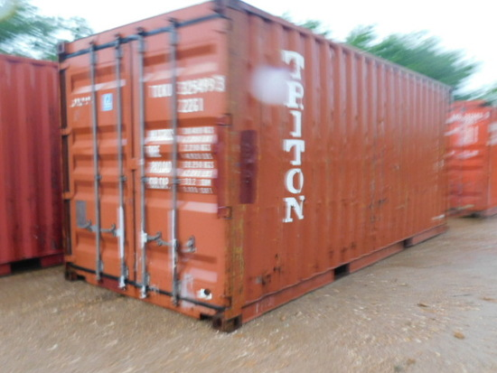 **NOT SOLD**20 FT SHIPPING CONTAINER