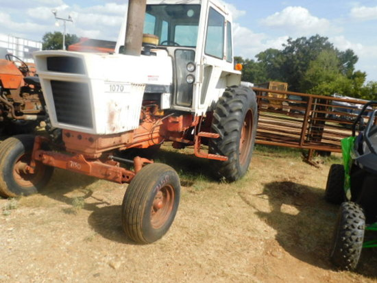 **NOT SOLD**CASE 1070 CASE DIESEL CAB TRACTOR