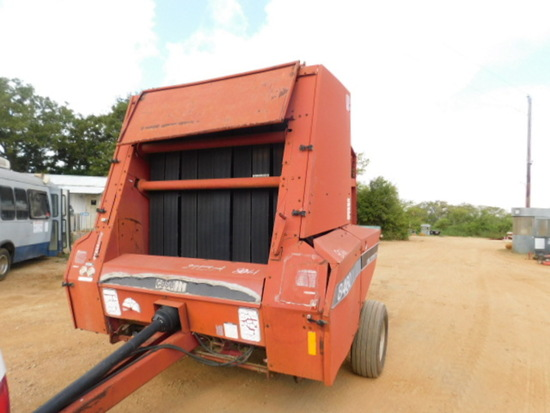 **NOT SOLD**CASE  8460 ROUND BALER