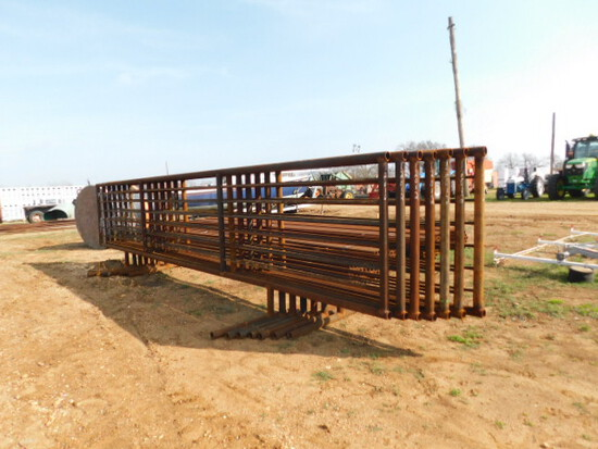 **NOT SOLD** Cattle Panels 8pcs with Gate
