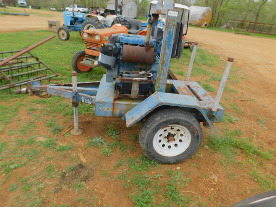 **NOT SOLD*PUMP  MOTOR & TRAILER