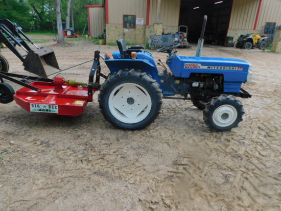 *NOT SOLD* MITSUBISHI D2050FD W/4' BIG BEE SHREDDER