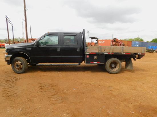 2003 FORD F450 4 DR 2WD V10 RUNS