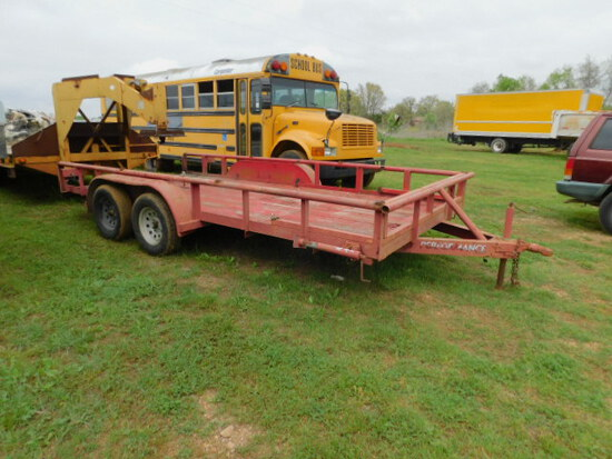 16' PIPE TOP TRAILER