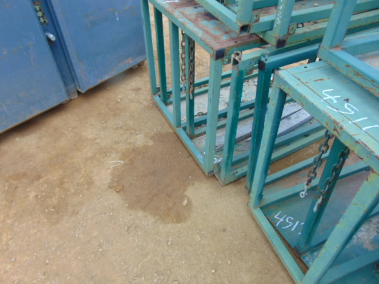 *NOT SOLD*OXYGEN & ACETYLENE RACKS