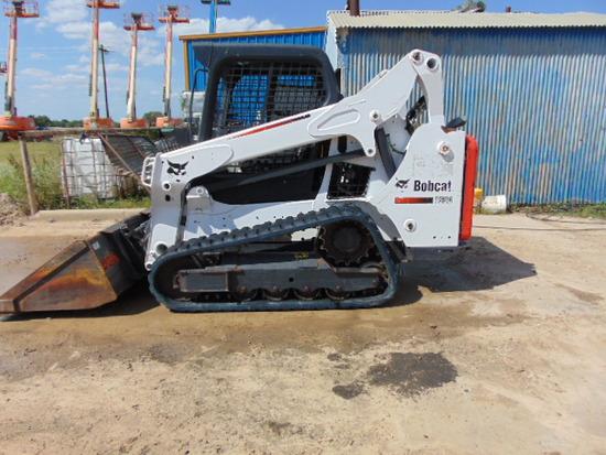 BOBCAT T 590 TRACKED SKID STEER   2016
