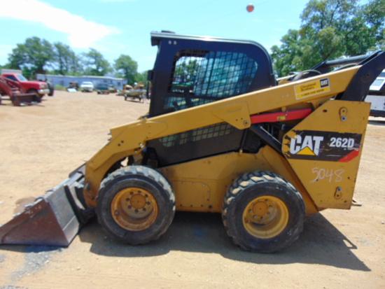 2016 CAT 262D CAB AIR SKID STEER LOADER