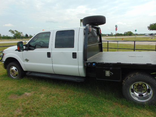*NOT SOLD*(100) 2013 FORD F350 CREW CAB 6.7 DIESEL