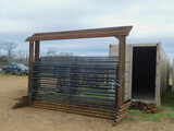 *SOLD* BOW GATE FOR CORRAL 12FT