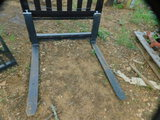 *NOT SOLD* SKID STEER  QUICK ATTACH FORKS