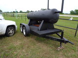 *NOT SOLD* BBQ PIT ON TRAILER