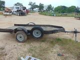 *NOT SOLD* 12' UTILITY TRAILER NO TITLE