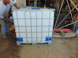 *NOT SOLD*300 GALLON WATER TANKS QTY 2