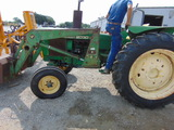 *NOT SOLD* 2130 JOHN DEERE POWER STEERING & REMOTES FOR HYDRAULICS