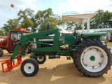 *NOT SOLD* OLIVER 1650 HYDRA POWER DRIVE W/HAY FOR & LOADER FARM TRACTOR