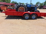 *SOLD*16' SHOP BUILT TRAILER NO TITLE/ARO ONLY