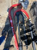 *SOLD* 3 POINT AUGER W/6
