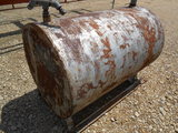 **NOT SOLD**250 Gallon Fuel Tank on Skids; No Pump PICK UP IN TAYLOR TEXAS