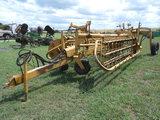 *NOT SOLD* Vermeer R23 Twin hydraulic Rake MODEL R23