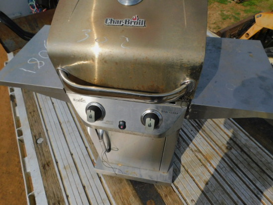 *SOLD* CHARCO BROIL BBQ PIT
