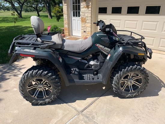 *SOLD* 2007 CAN AM OUTLANDER 800 MAX