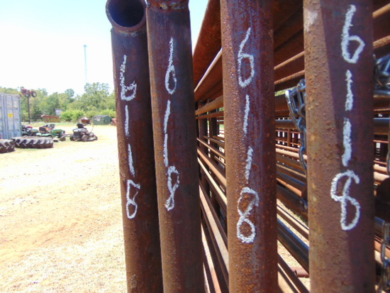 *NOT SOLD*QTY 8 24FT HEAVY DUTY CATTLE PANELS INCLUDED 12FT GATE