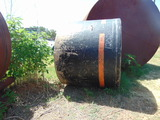 *NOT SOLD* BLACK SEWER TANK