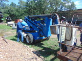 *NOT SOLD*UPRIGHT ML-03 PROPANE MANLIFT AB-46