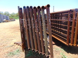 *NOT SOLD*QTY 8 24FT HEAVY DUTY CATTLE PANELS INCLUDED 6FT GATE
