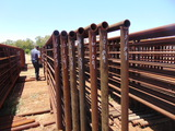 *NOT SOLD* QTY 8 24FT HEAVY DUTY CATTLE PANELS INCLUDED 7FT GATE