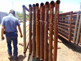 **NOT SOLD* QTY 8 24FT HEAVY DUTY CATTLE PANELS INCLUDED NO GATE