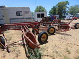 *NOT SOLD* GEHL TWIN RAKES & DOLLY