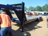 *NOT SOLD* 40' CAR HAULER WITH WINCH NO TITLE